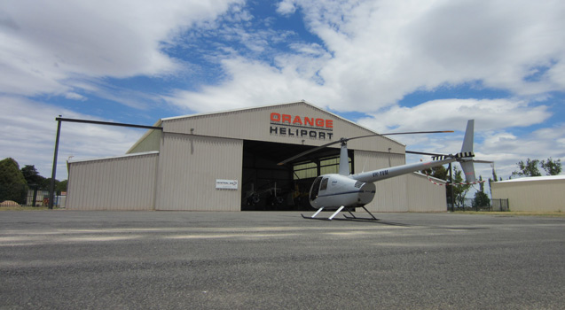 Central West NSW  Australian Helicopter Pilot School