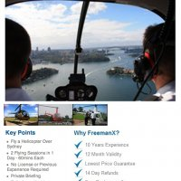 Freeman Experience Father's Day Learn To Fly Special Offer