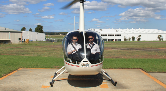 Helicopter Pilot Flight Training