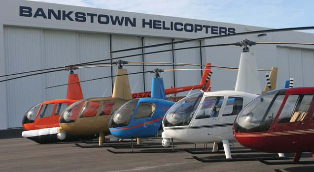 Bankstown Nsw Australian Helicopter Pilot School Locations